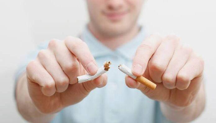 recept a dohányzás gyors leszokására